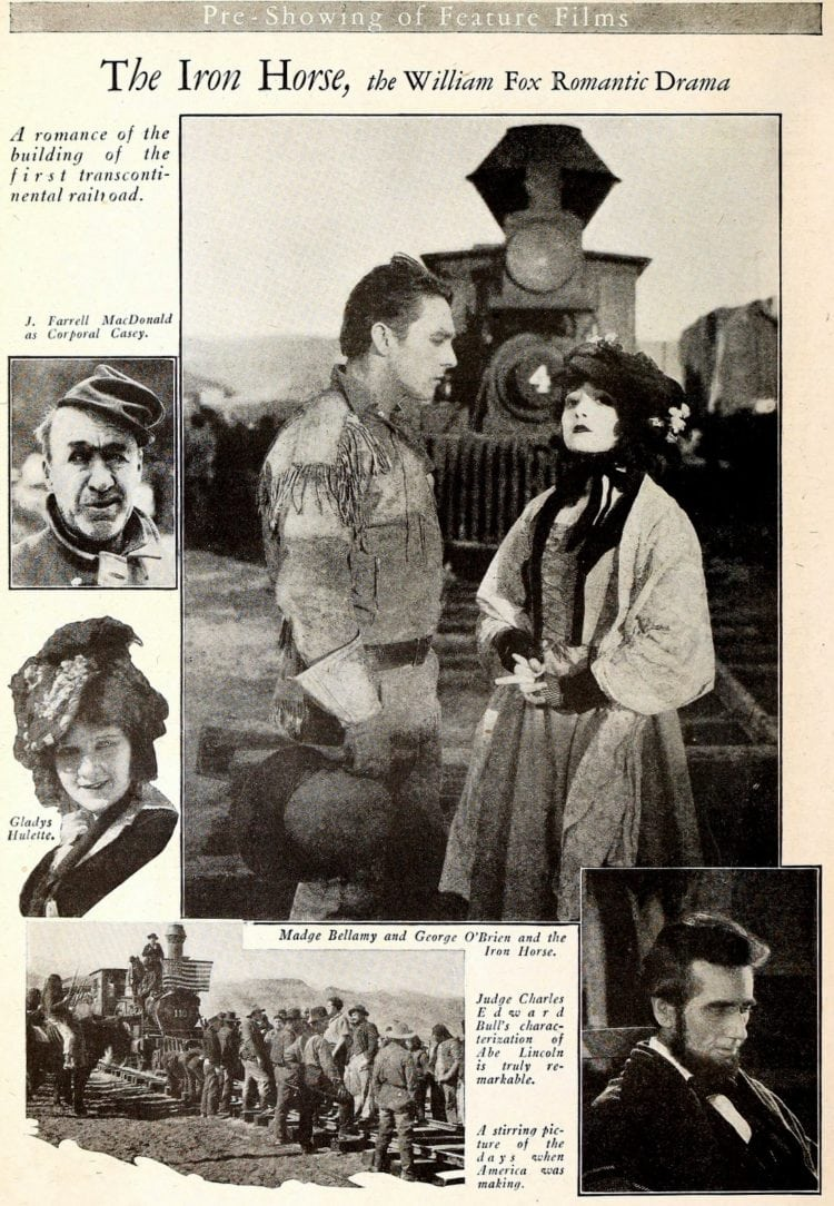Iron Fox movie from 1924