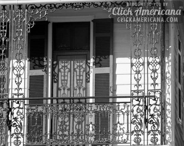 Ironwork balcony - South Battery Street, Charleston