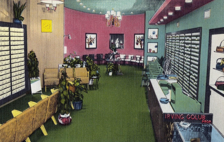 Irving's Shoe Shop, 2166 White Plains Rd., Bronx NY (1940s)