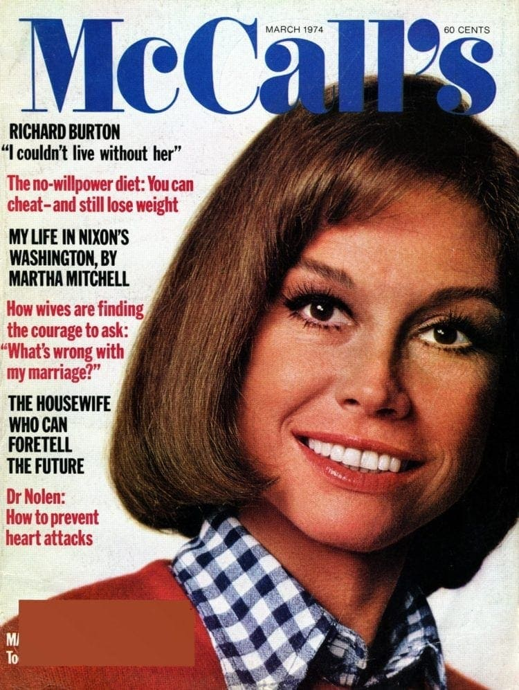 Is Mary Tyler Moore too good to be true (1974)