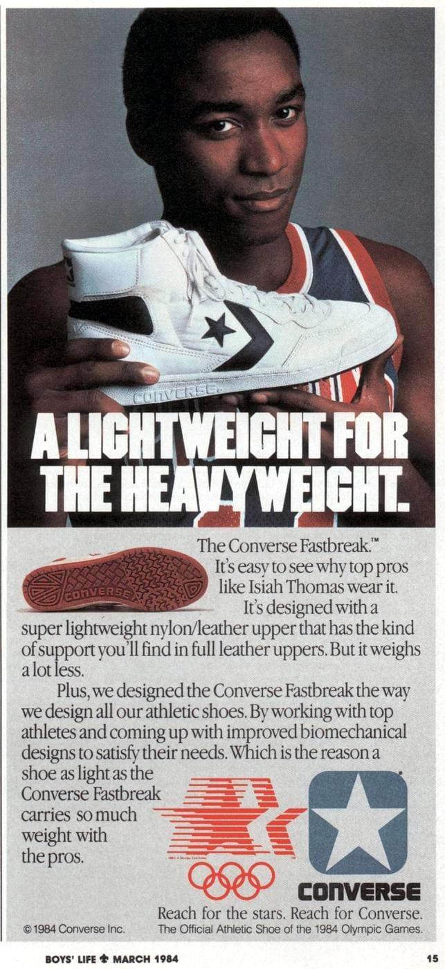 Isiah Thomas - Vintage Converse shoes 1984