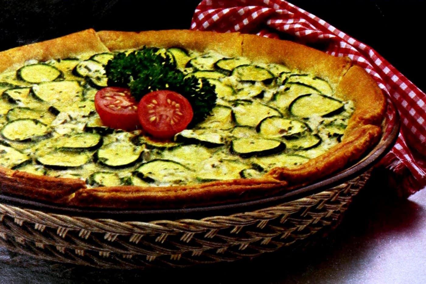 Italian Zucchini Crescent Pie