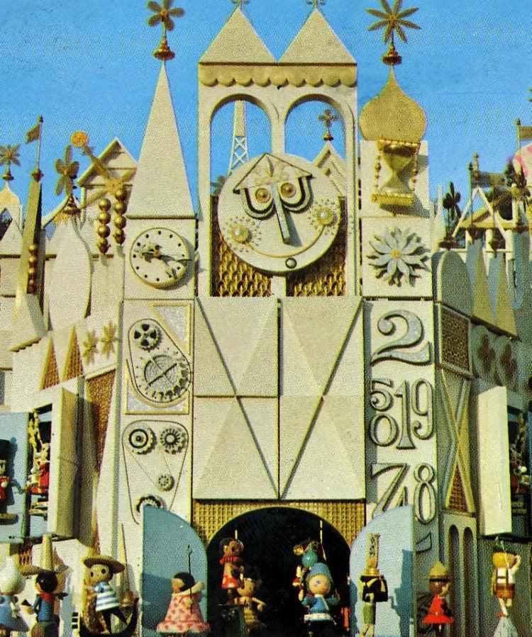 Disneyland pictorial souvenir: Small World
