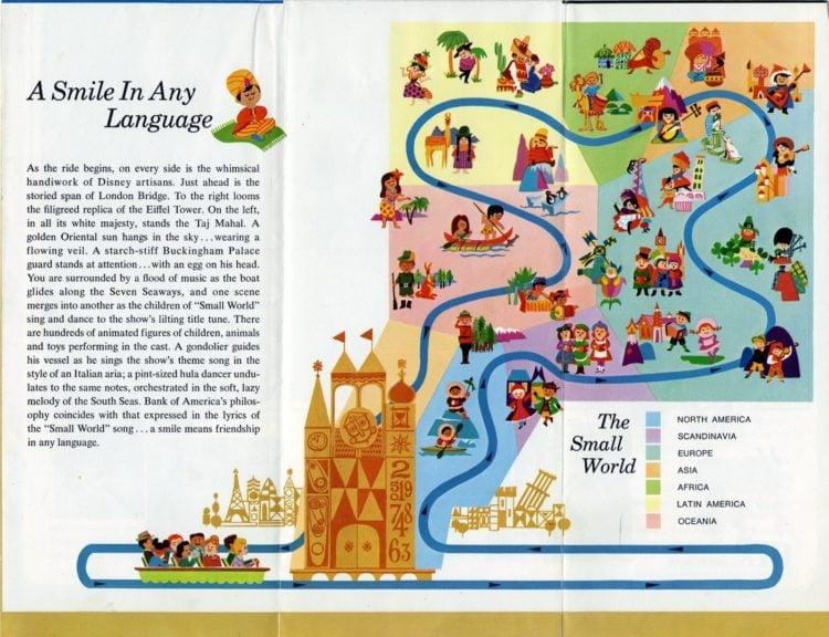 It's a Small World - vintage Disneyland brochure (2)