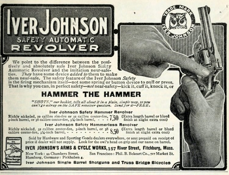 Iver Johnson Safety automatic revolver (1)