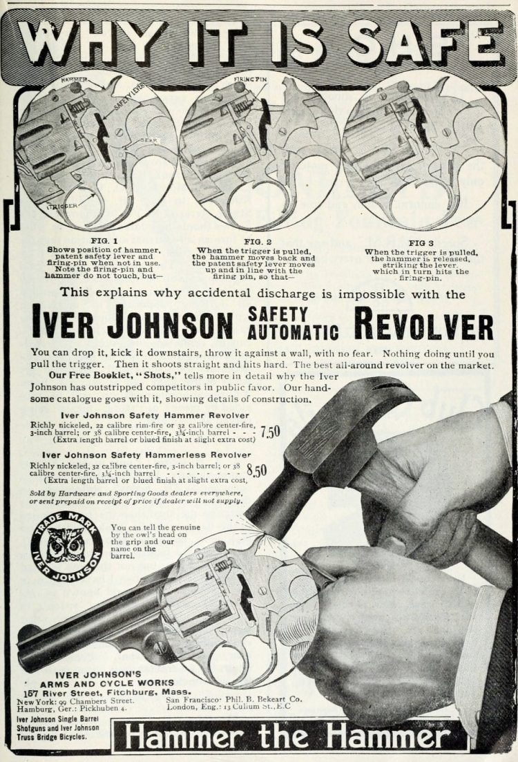 Iver Johnson Safety automatic revolver (2)