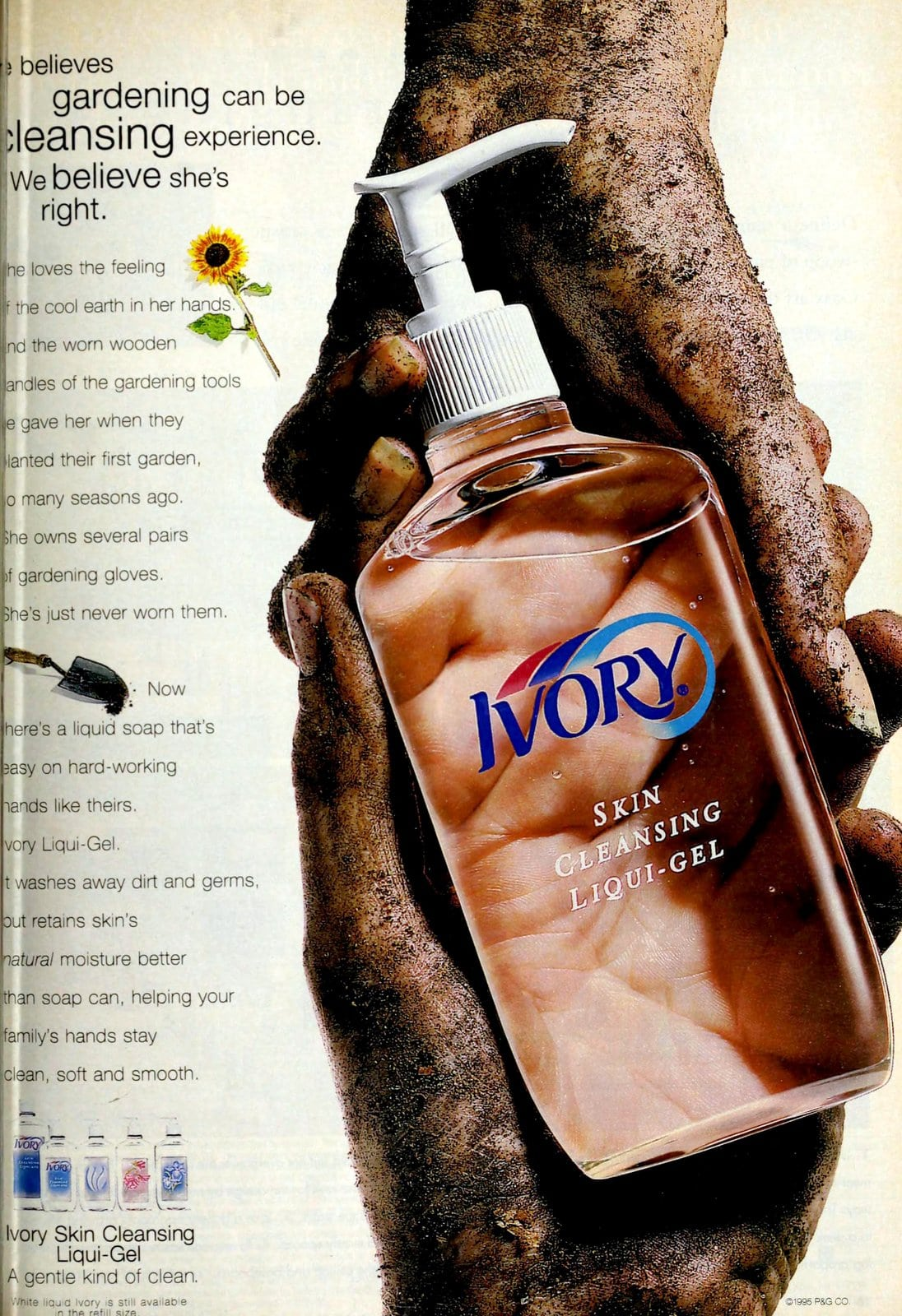 Ivory Liqui-Gel soap (1996)