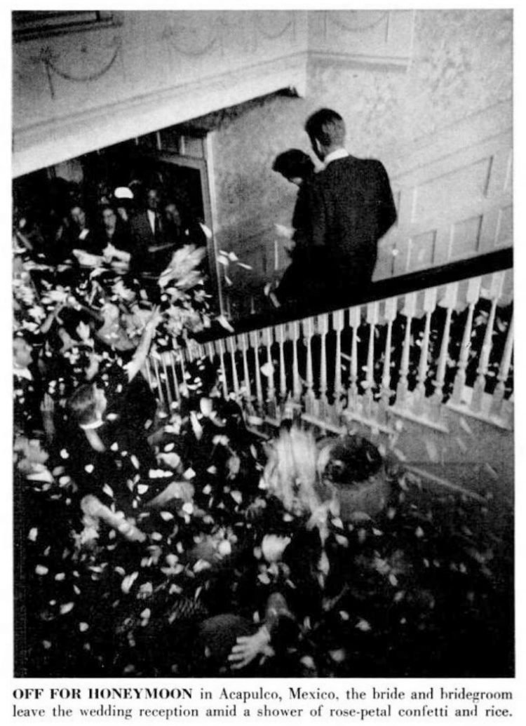 JFK wedding - September 1953 (2)
