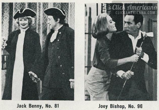Jack Benny - Joey Bishop - 1964