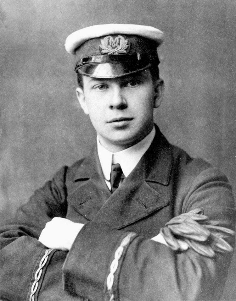 Jack Phillips - Titanic telegraph - Marconi wireless officer 1912
