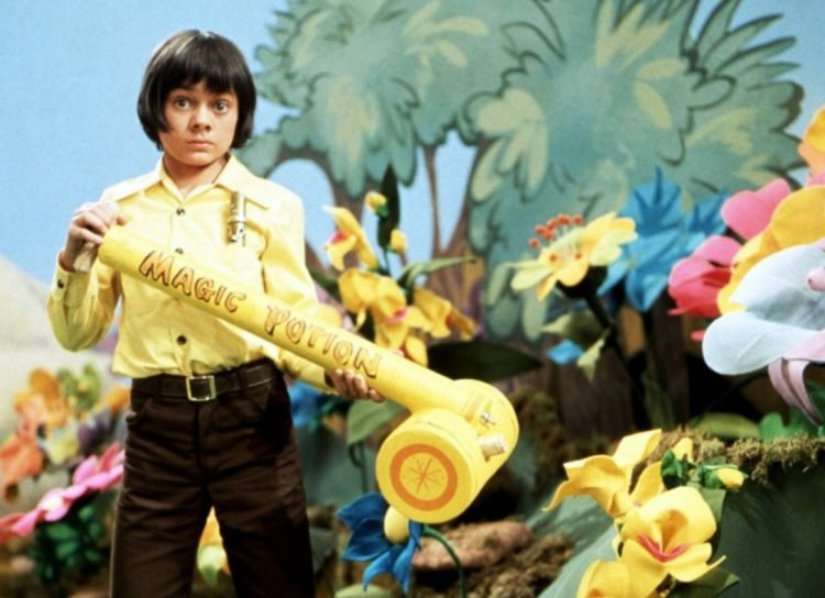 Jack Wild with magic potion - HR Pufnstuf