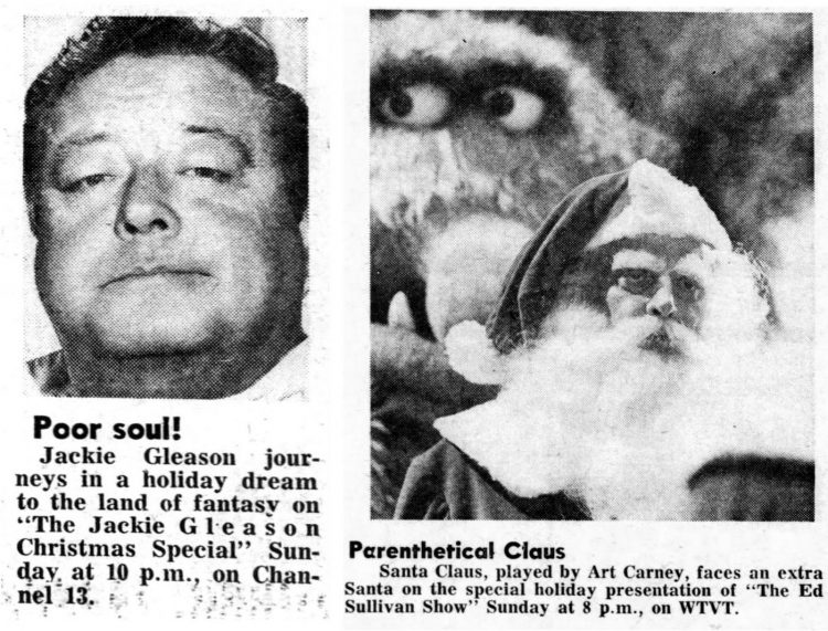 Jackie Gleason and Art Carney Holiday specials from 1970 - The Honeymooners