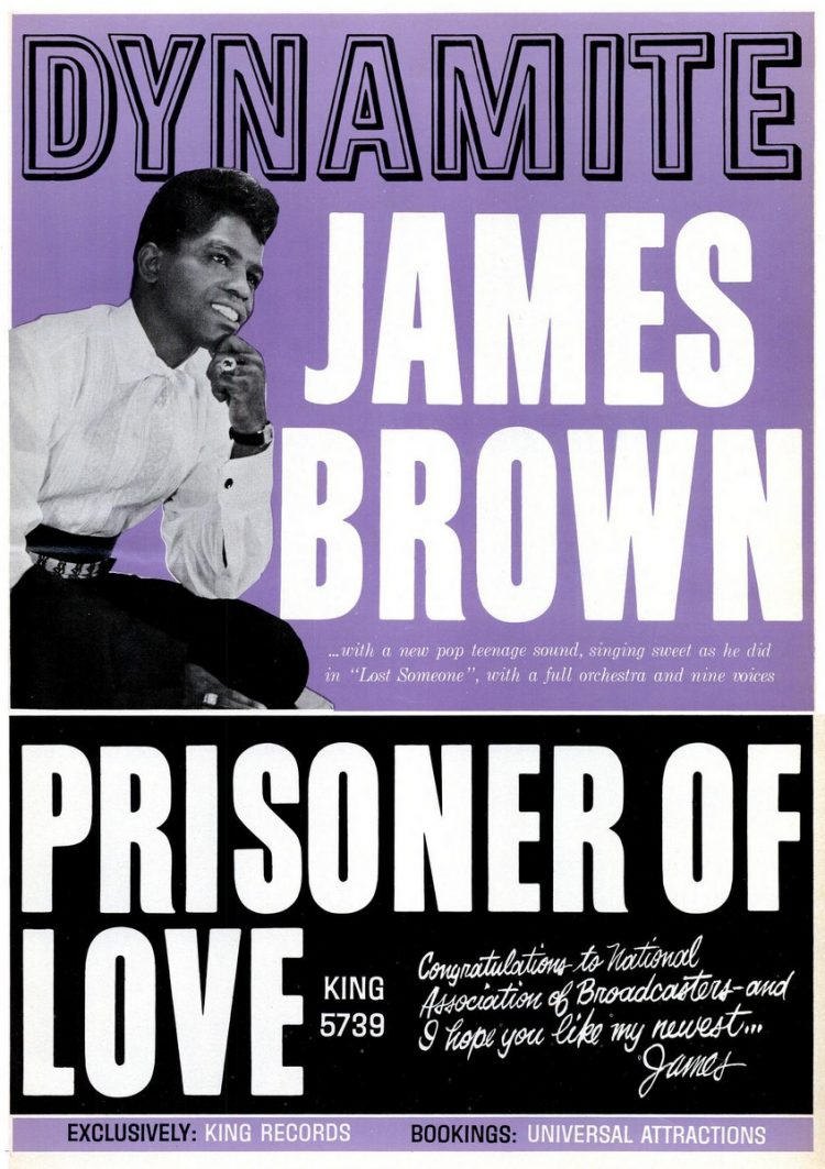 James Brown Dynamite & Prisoner of Love (1963)