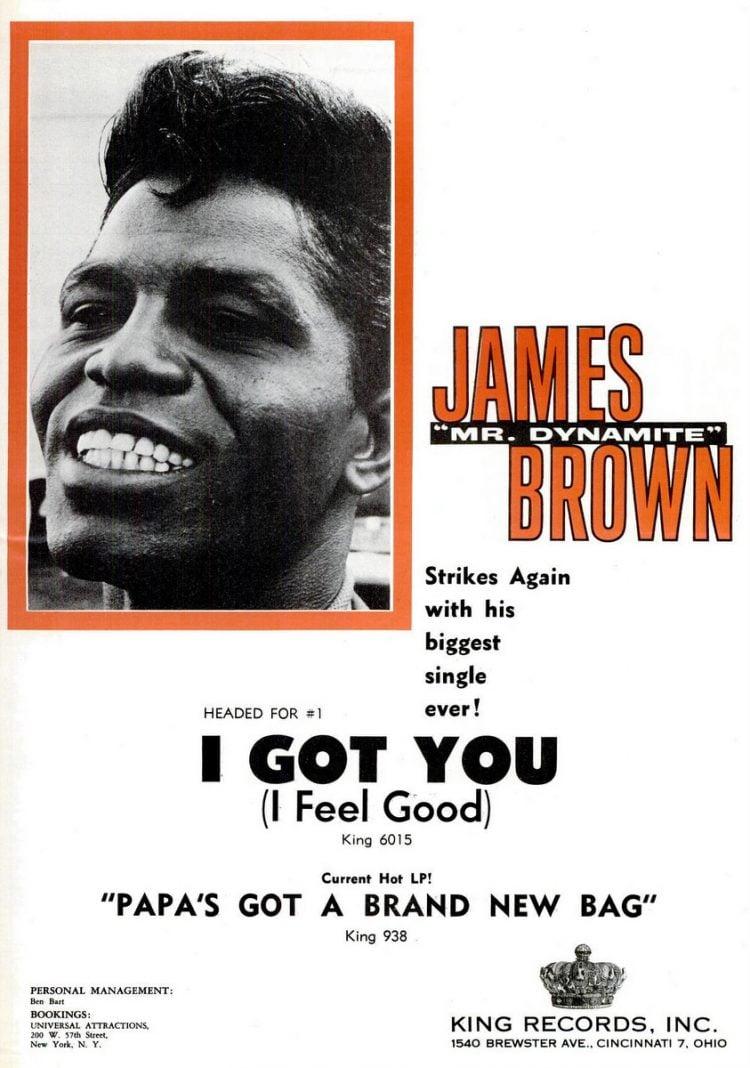James Brown I Got You(I Feel Good) (1965)