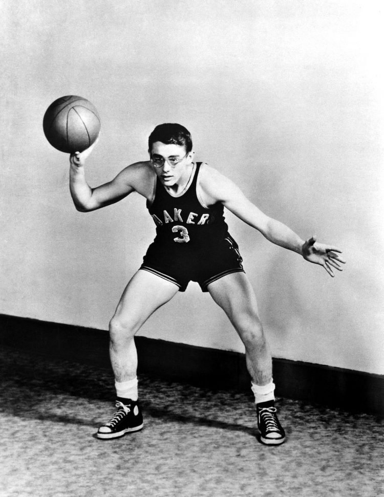 James Dean on high school basketball team