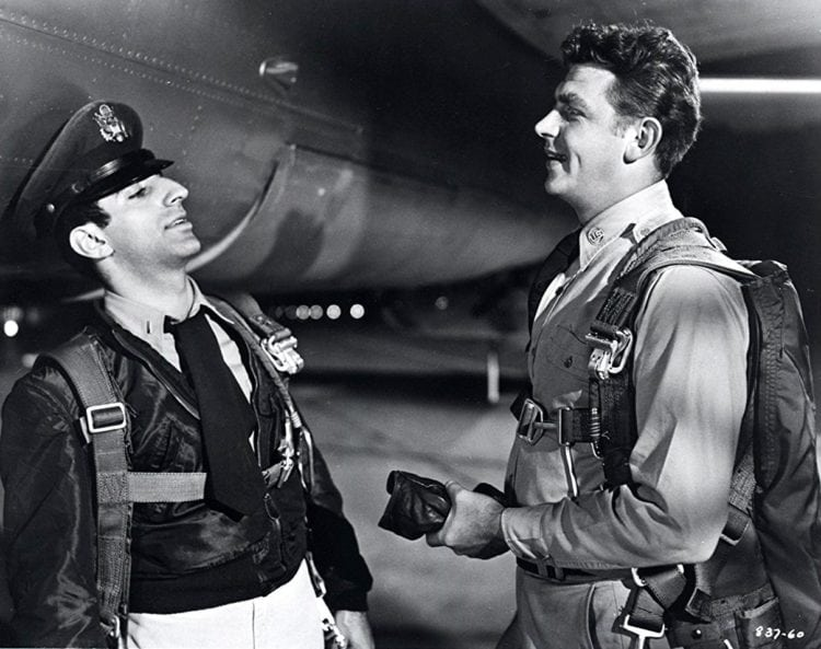 Jamie Farr and Andy Griffith in No Time for Sergeants (1958)