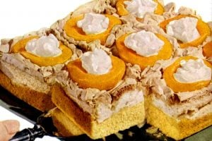 Jan 23, 1950 Peach meringue cake - food recipe