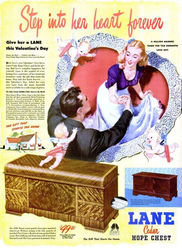 Jan 27, 1947 hope chest