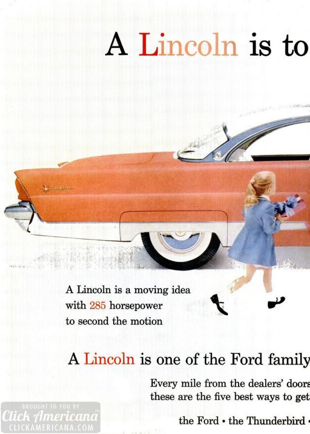 Jan 30, 1956 Ford Lincoln cars (3)