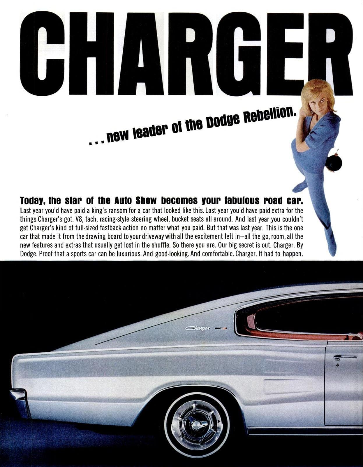 Jan 7, 1966 Dodge Charger cars