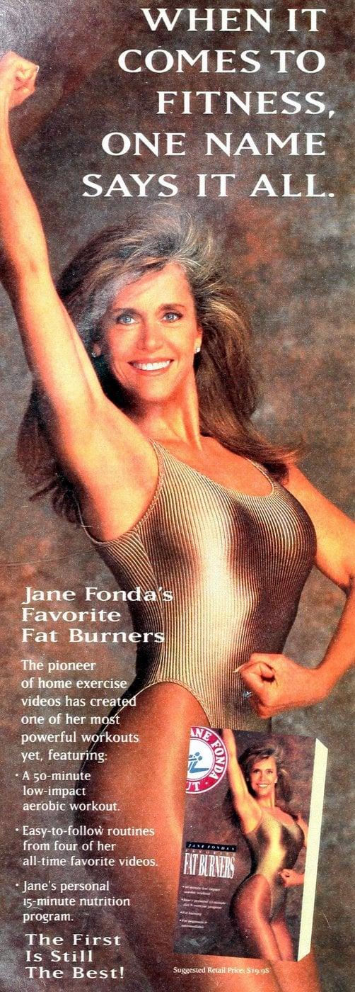 Jane Fonda Fat Burners video - 1993