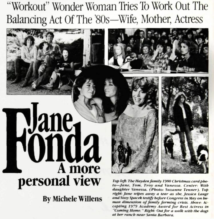 Jane Fonda - Interview from 1985
