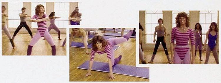 Jane Fonda workouts