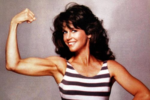 Jane Fonda's vintage workout videos