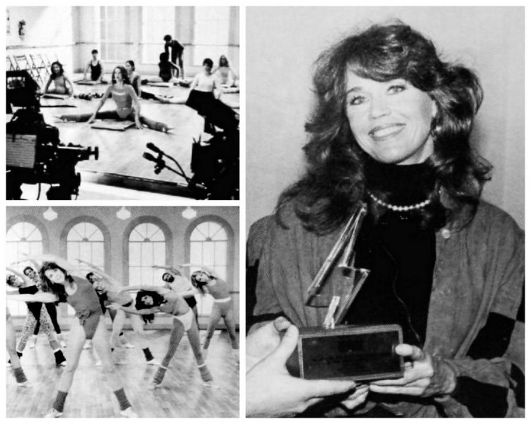 Jane Fonda's vintage workout videos & exercise empire