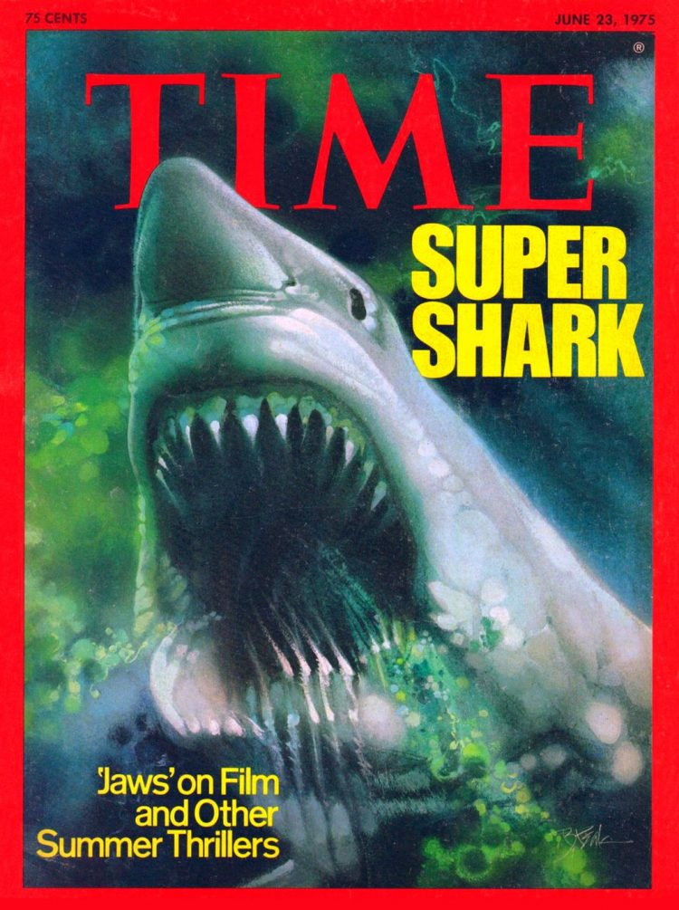 Jaws Time magazine cover 1975