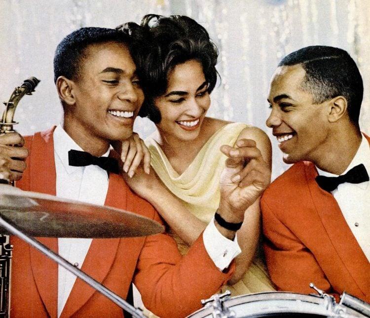 Jazz band musicians 1962