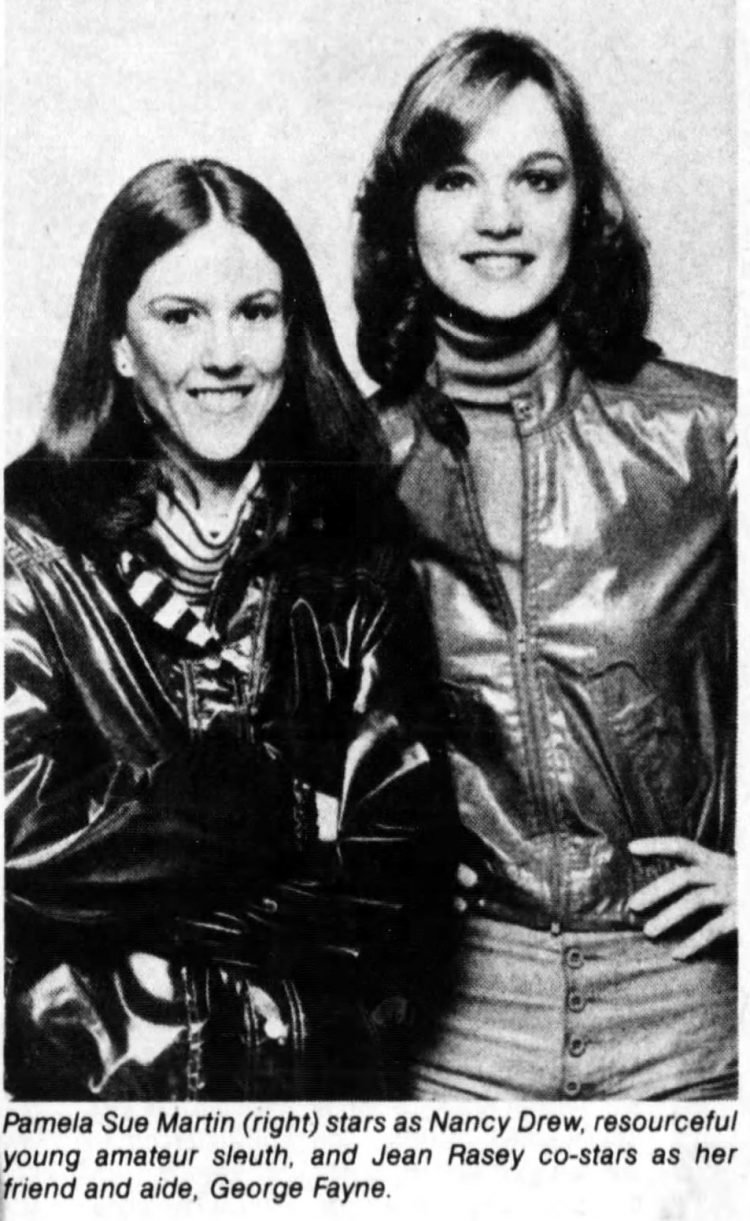 Jean Rasey and Pamela Sue Martin - Nancy Drew