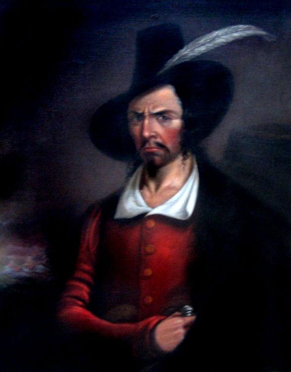The Death Of Pirate Jean Lafitte 1864