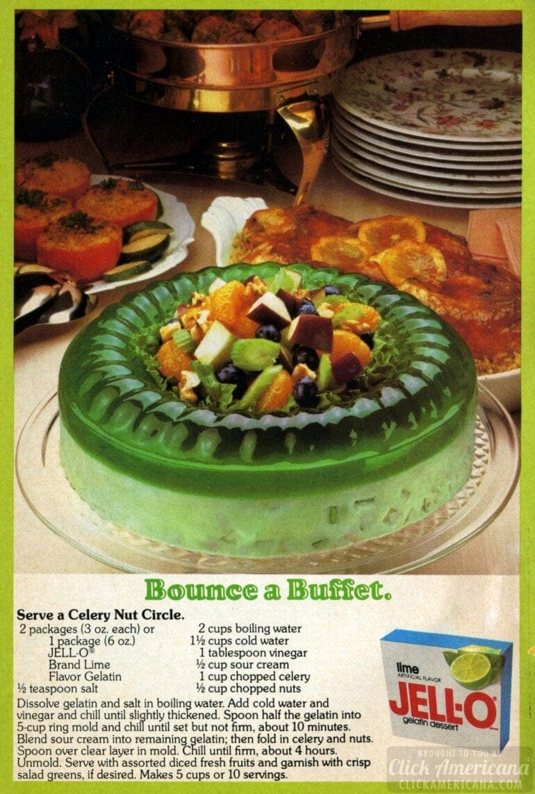 Jell-O Celery Nut Circle (1979)