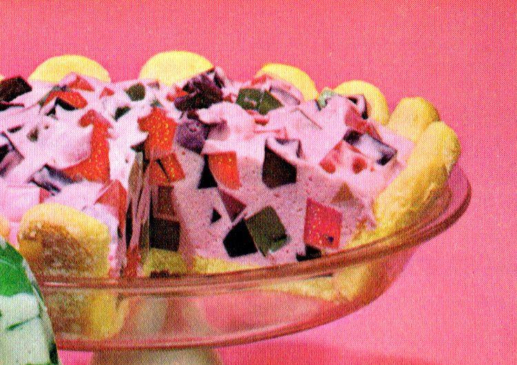 Jell-O Crown JewelWindow Glass desserts (1960s) (3)