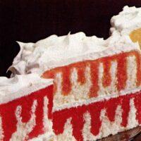 Jell-O Gelatin Rainbow Cake (Poke Cake) recipe