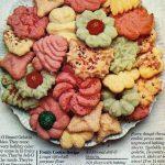 Jello spritz cookies - Fruity cookie retro recipe