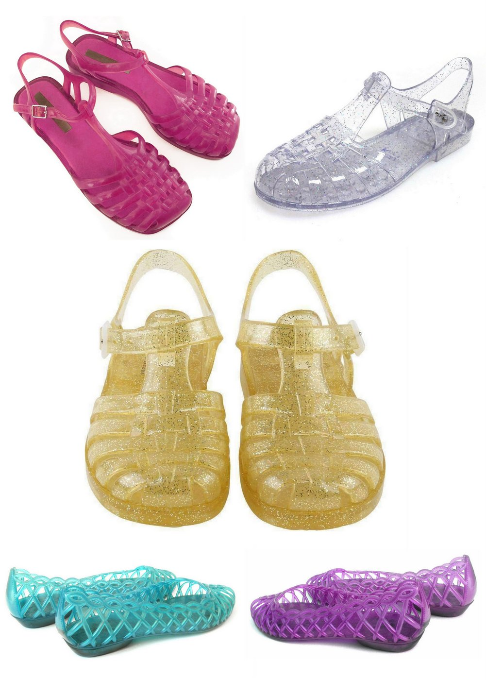 Jelly shoes retro and new