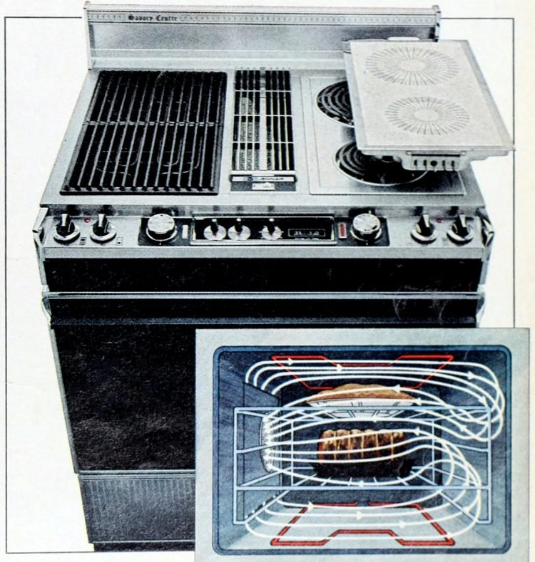 Jenn Air Ceramic flat-top kitchen ranges from 1978