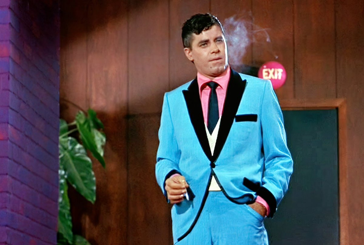 Jerry Lewis as Buddy Love in the Nutty Professor movie (1963)