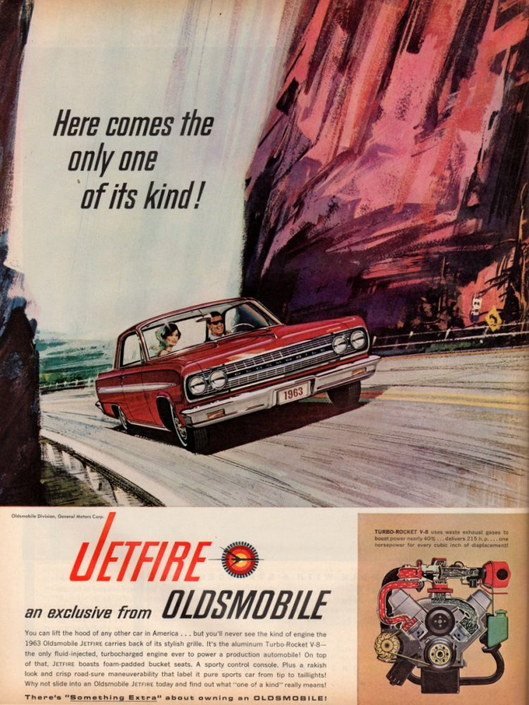 Jetfire - an exclusive from Oldsmobile (1963)