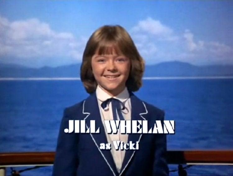 Jill Whelan as the Captain's daughter Vicki Stubing