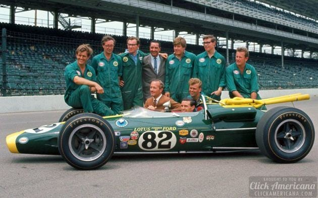 Looking Back To When Jim Clark Won The Indianapolis 500