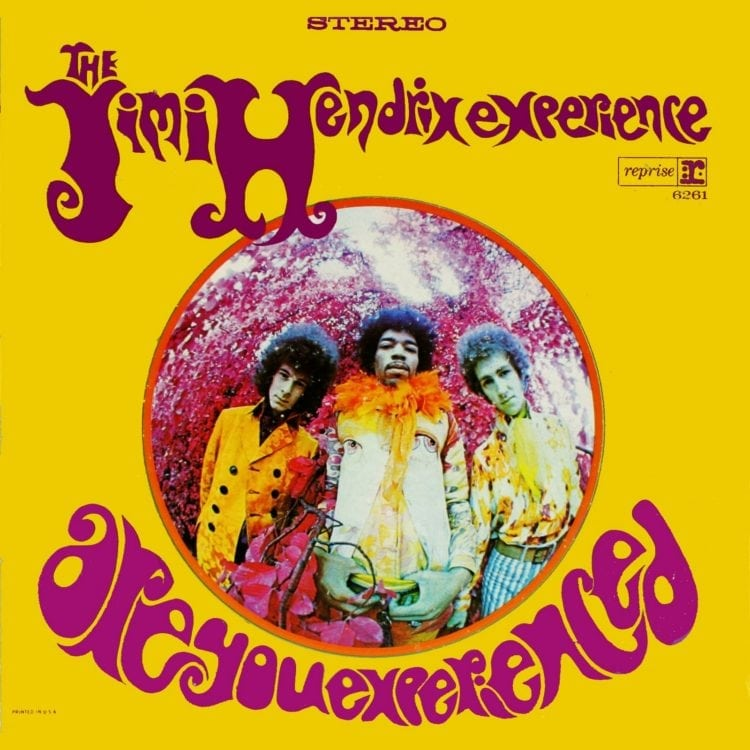 Jimi Hendrix Experience - Are You Experienced album cover US