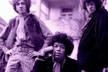 Jimi Hendrix Experience band photo