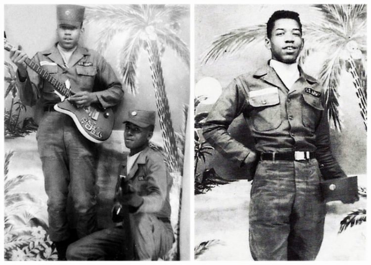 Jimi Hendrix in the military
