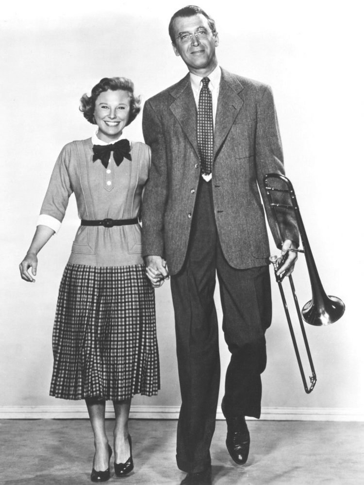 Jimmy Stewart and June Allyson for 'The Glenn Miller Story'
