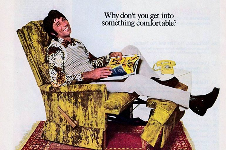 Joe Namath La Z Boy recliners