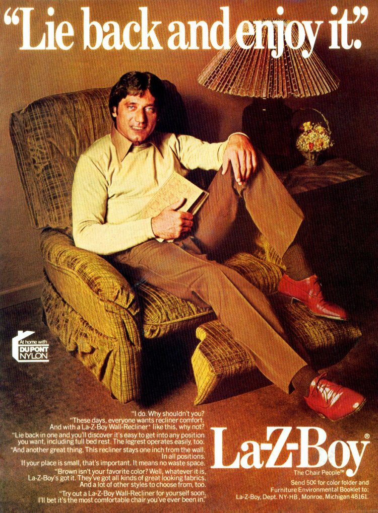 Joe Namath for La-Z-Boy recliners (2)