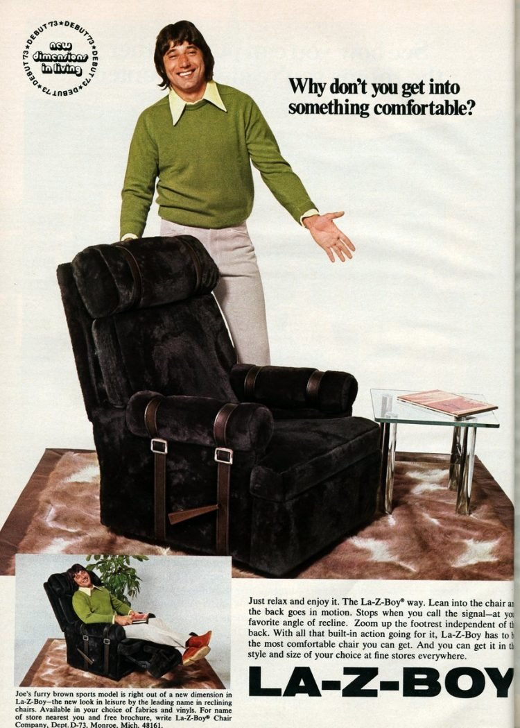 Joe Namath for La-Z-Boy recliners (3)